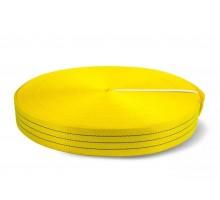 Лента текстильная TOR 7:1 90 мм 13500кг (желтый)