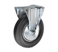 Колесо неповоротное резина FC63 160 мм