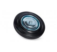 Колесо литая резина C63 (C-160х20х39-SLS) 160 мм