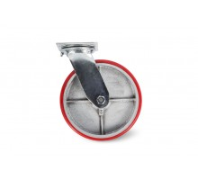 Колесо большегрузное поворотное PU (SCp 42) 100мм