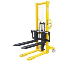 Штабелер гидравлический с раздвижными вилами XILIN SDJA1000-I (1000 кг - 1,6 м)