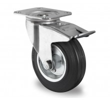 Комплект колес 160 мм для телег ТП (2 пов, 2 не пов.)