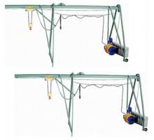 Подъемник строительный УМЕЛЕЦ М 320 кг 50 м без противовеса