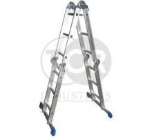 Лестница 4-секционная алюминиевая TOR TRL4-3