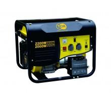 Генератор бензиновый TOR TR2500E 2,0кВт 220В 15л