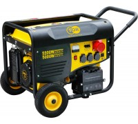 Генератор бензиновый TOR TR6500EW 5,0кВт 220В 25л