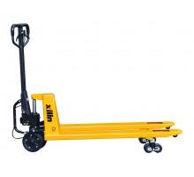 Тележка гидравлическая XILIN г/п 2500 кг BFA для тяжелых грузов (PU)