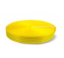 Лента текстильная TOR 6:1 75 мм 10500 кг (желтый)