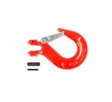 Крюк с вилочным креплением и защелкой TOR 1,12т